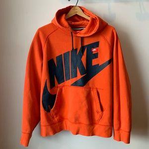 Vintage 90's Orange Nike Sweatshirt